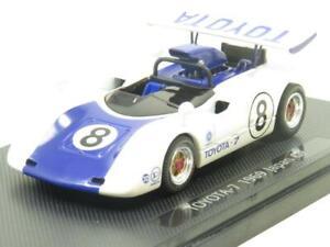 Ebbro-modelli-pressofusi-713-TOYOTA-7-Giappone-puo-AM-1969-No8-1-43-scala-in-Scatola