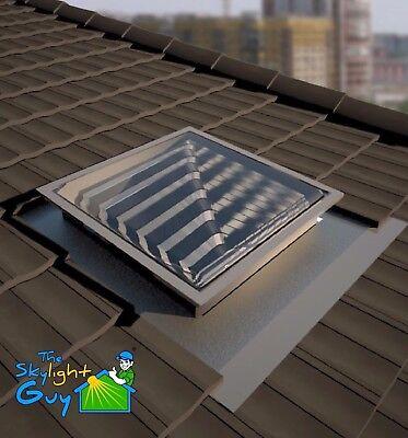 Skylight 550mm SQUARE - solar sun tube - DIY KIT - easy ...