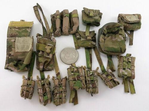 Mini Times Alex Navy Seal Team Six Pouch Lot 1//6 toy dragon Dam art G.I Joe