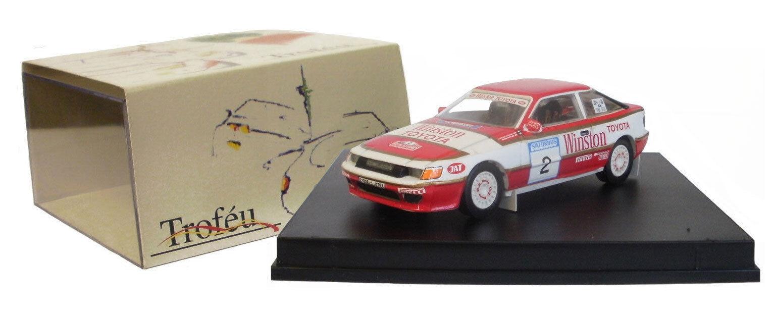 Trofeu 224 pour Toyota Celica GT4 Saturnus 1991 -, échelle 1 43,