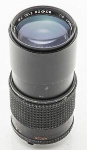 Minolta-MC-Tele-Rokkor-200mm-200-mm-1-4-4-analog-manuell