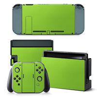 Nintendo Switch Skin Vinyl Sticker For Nintendo Switch Green Color