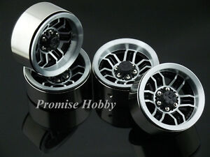 6S heavy duty beadlock alloy 1.9 wheel rim for 1:10 1/10 rc crawler car 4pcs -T5