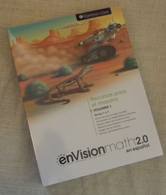 Envision Math 2016 Spanish Grade 4 Teacher Resource Masters Domain 9780328854042