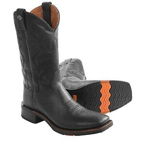 0be937226a6 Harley-Davidson Men's Stockwell Western Boots D93143 | eBay