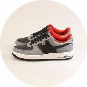Details about Air Force 1 Low Id Supreme SB BLACK CEMENT 444758 996 US10