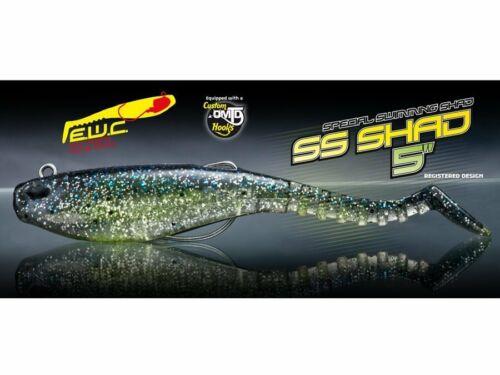 """Molix SS Shad 5"""" Special Swimming Shad 12cm 1//2oz 14g Gummiköder NEU 2019"""