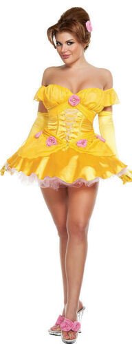 74b9f264c093e5 Starline Storybook Beauty Belle Adult Costume Halloween Princess Cosplay