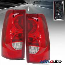 2003 Chevy Silverado 1500 2500 [Factory Style] Red Tail Lights Right Left Set