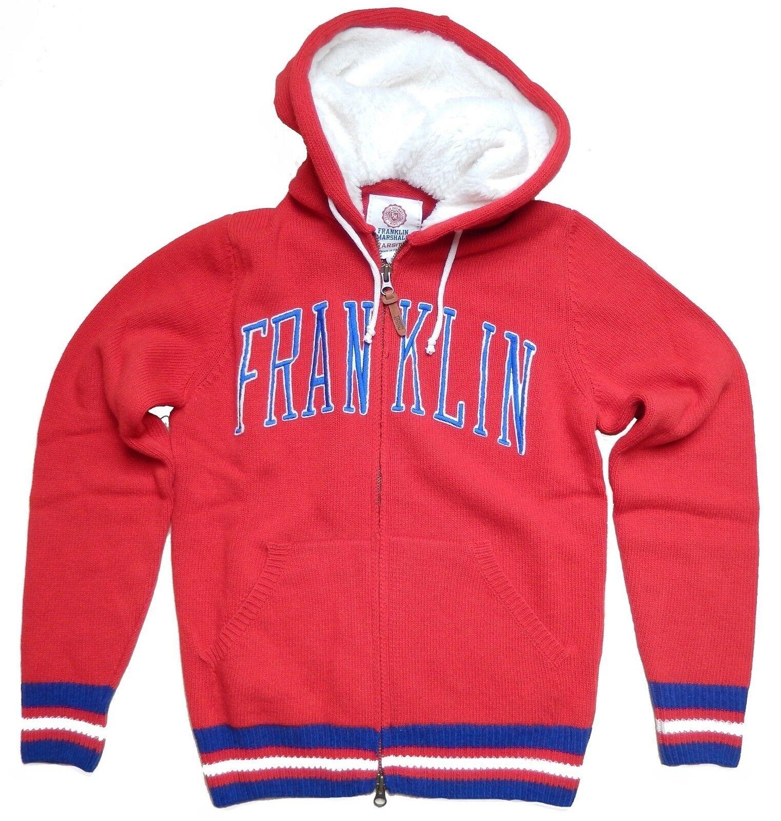 FRANKLIN & MARSHALL Zip Pullover rot Alert | Üppiges Design  Design  Design  ad4fba