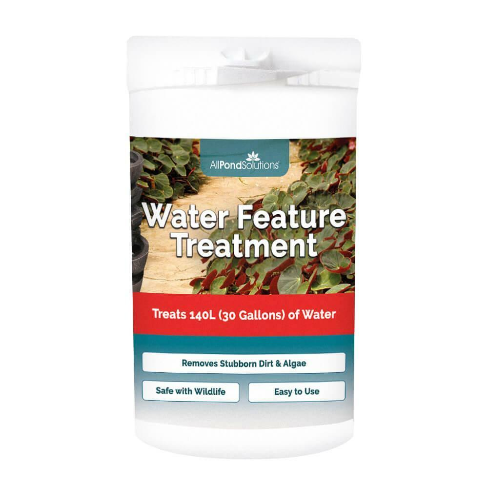 Water Feature Cleaner Treatment - Treats 140L - Removes Dirt and Green-water