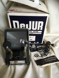 DeJur-Dual-8mm-Movie-Editor-Spectator-Model-500-Vintage
