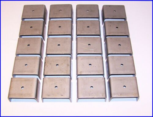20 pack of weld-on  stake pockets for trucks /& trailers PK-WSP