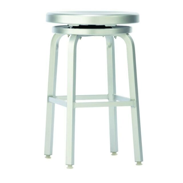 Pleasing Swivel Bar Stool Melanie Brushed Aluminum Indoor Outdoor Kitchen Durable 24 In Caraccident5 Cool Chair Designs And Ideas Caraccident5Info
