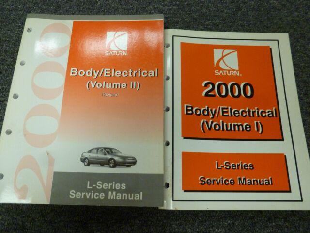 2000 Saturn L100 L200 L300 Lw200 Lw300 Body Electrical
