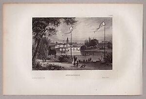 Ostpreussen-Koenigsberg-Kaliningrad-Gesamtansicht-Stahlstich-1850