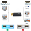 thumbnail 3 - Display Port DP Male To HDMI Female Adapter Converter Adaptor For HDTV. 073