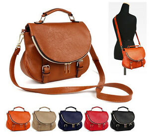 Women s Crossbody Handbag with Zipper Flap Top Handle Tote Shoulder ...