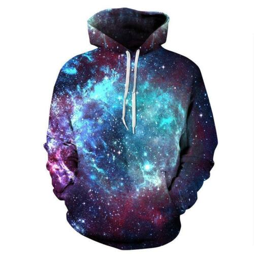 Dark Rose Shining Galaxy Pattern Print Zip Up Hoodie Long Sleeve Hoody Women Men