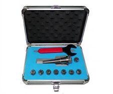 Mt2 Er16 Collet Chuck Tool Hold Set 8 Pcs 2mt Er 16 Tool Holder