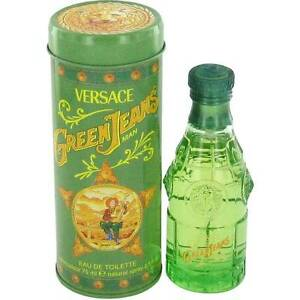Versace-Green-Jeans-Eau-De-Toilette-ml-75-spray-Rare-Nuovo