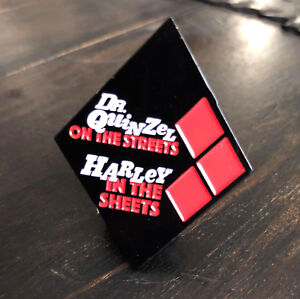 Dr-Quinzel-On-The-Streets-Harley-In-The-Sheets-High-Quality-Exclusive-Enamel-Pin