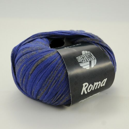 Lana Grossa Roma 50g Bändchengarn verschiedene Farben