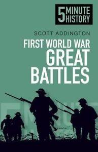 First-World-War-Battles-5-Minute-History-Signed-Paperback
