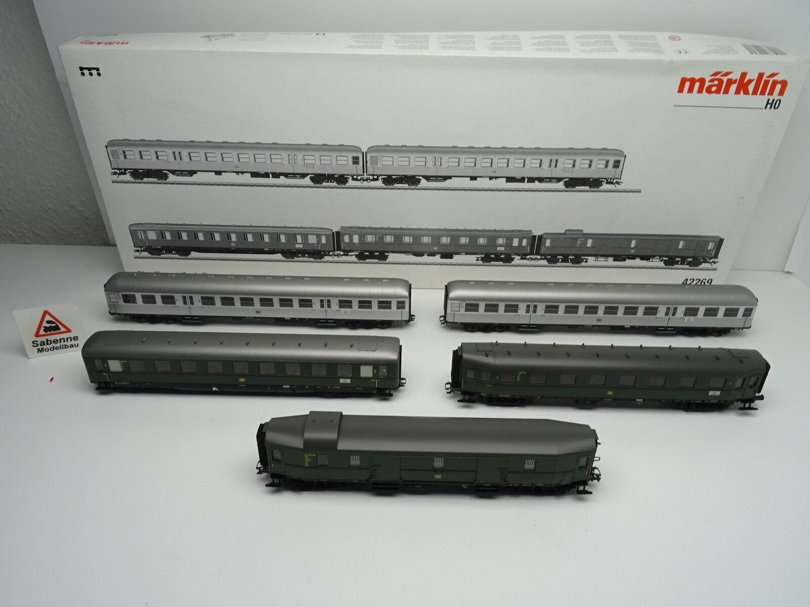 42269 eilzug vagoni-Set DB EP. III 5 Pezzi OVP m1234