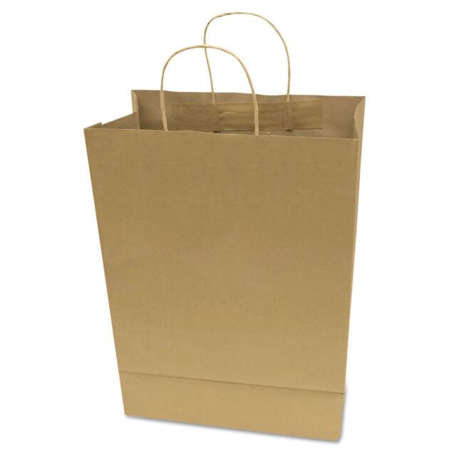 Cosco Premium Small Brown Paper Ping Bag 50 Box 091565
