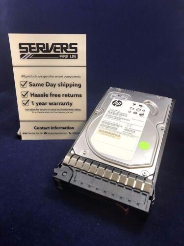 """1 of 1 - hp 507614-B21 508011-001 1tb 6G sas mdl 7.2K LFF 3.5"""" hard drive 507613-001"""