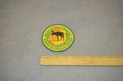Ontario MNR Moose Hunter Patch Collection
