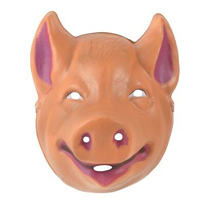Plastic Child/'s Pig Mask