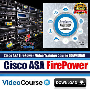 Details about Cisco ASA FirePower Complete Security Video Training 14 Hours  Course DOWNLOAD