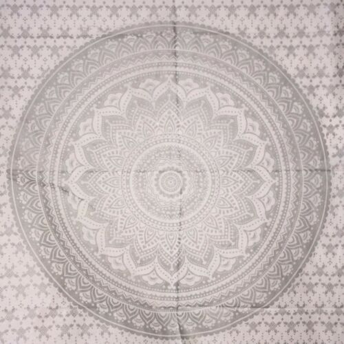 Indian Mandala Small Poster Tapestry Wall Hanging Throw Cotton Table Cloth Soft