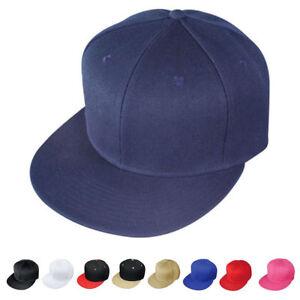 Details about 1 Dozen Blank Flat Bill Vintage 6 Panel Baseball Hats Caps  Wholesale Bulk ed3ce5b9452