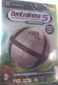JEU-XBOX-034-L-039-Entraineur-5-Saison-04-05-034-Gestion-Footballistique-NEUF-BLISTER
