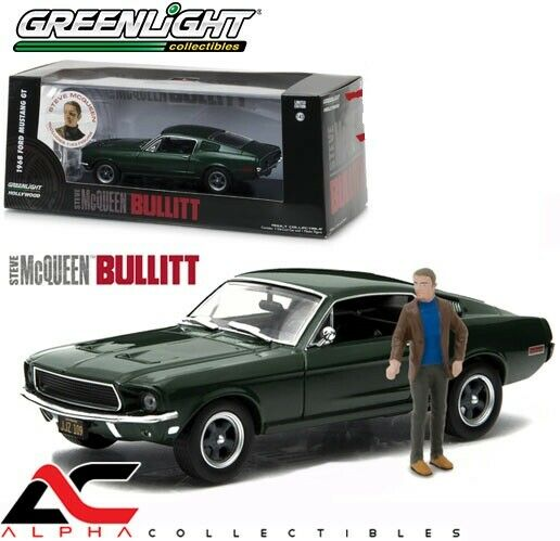 1968 Ford Mustang Fastback Minichamps 400082025 1 43 For Sale Online Ebay