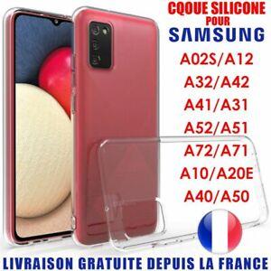 Coque Samsung Galaxy A12 A02s A21s A31 A41 A51 A71 A10 A40 A50 A70 En Silicone