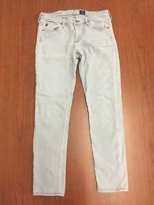 Adriano-Goldschmied-Jeans-The-Stevie-Ankle-Slim-Straight-Leg-Size-28R-Inseam-27