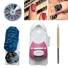 DIY Nail Art Printer Printing Pattern Stamp Manicure Machine Stamper Kit New
