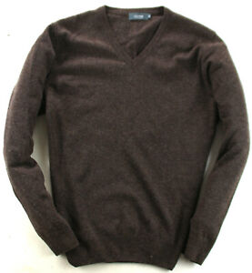 Clipper Pullover Sweater Wolle Braun Gr. L
