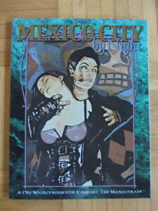 Vampire The Masquerade – Mexico City By Night – City Sourcebook english - White