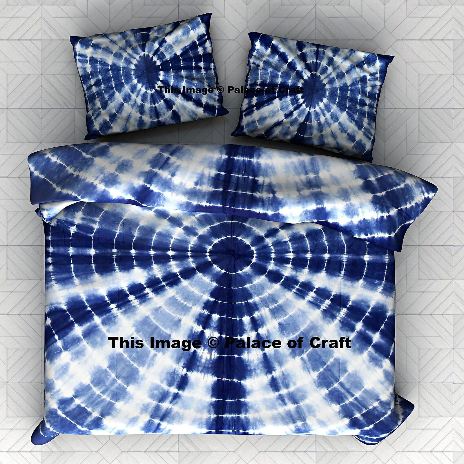 Tie Dye Duvet Cover Queen Doona Cover Indian Mandala Cotton Comforter Bohemian