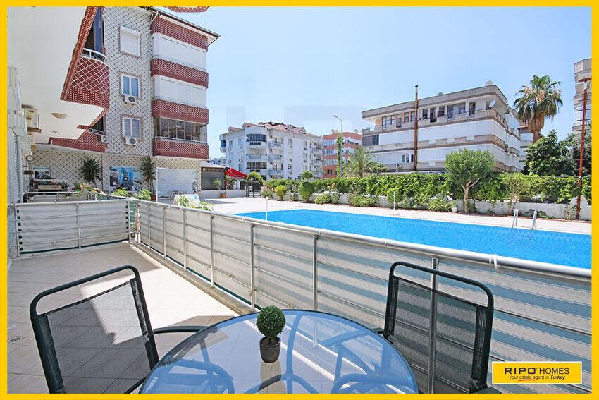 Alanya Oba - Hyggelig lejlighed beliggende tæt...