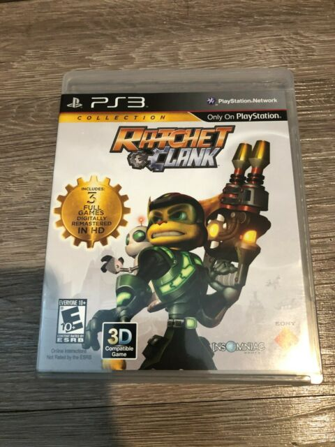 Ratchet & Clank Collection (Sony PlayStation 3, 2012) - Used/Opened