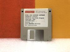 Keithley 2000 850c Model 2000 Testpoint Run Timelibrary Floppy Disk Software