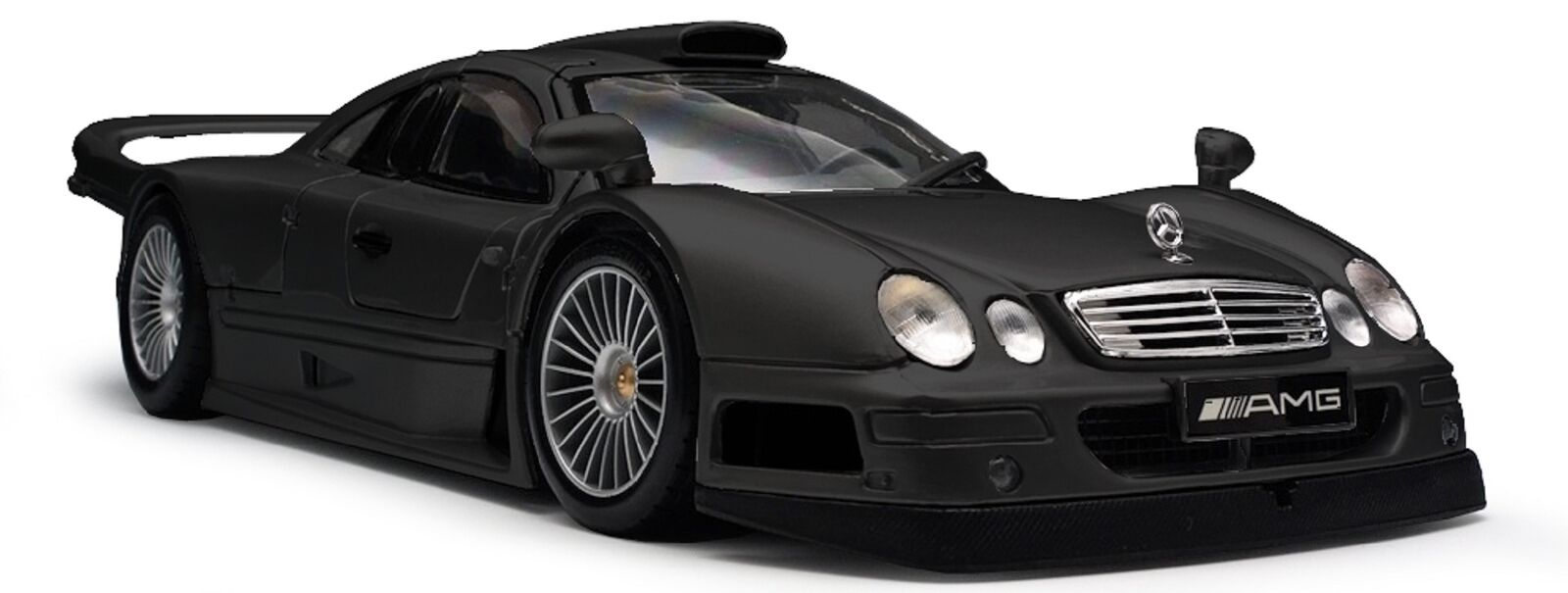 FORD Mustang Mercedes Benz CLK-GTR-Street versione nero opaco Maisto 1:18