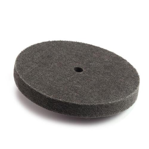 6/'/'Inch Grey 9P Fiber Polishing Buffing Wheel 400 Grit Nylon Abrasive 150*25*16