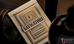 NAVIGATORS-THEORY-11-PREMIUM-PLAYING-CARDS-DECK-MAGIC-TRICKS-GOLD-SEALED-NEW